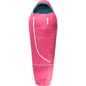 Grüezi-Bag Biopod Wool World Traveller Sovepose Børn, pink